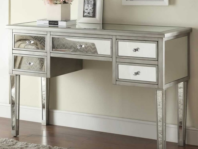 Mirrored Entryway Table