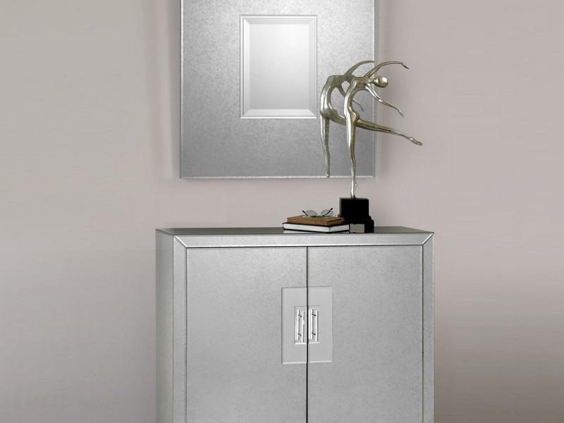 Mirrored File Cabinet