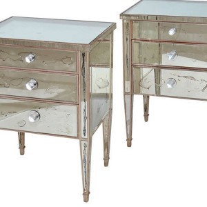 Mirrored Night Tables