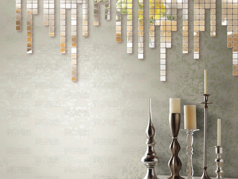 Mirrored Tiles For Walls