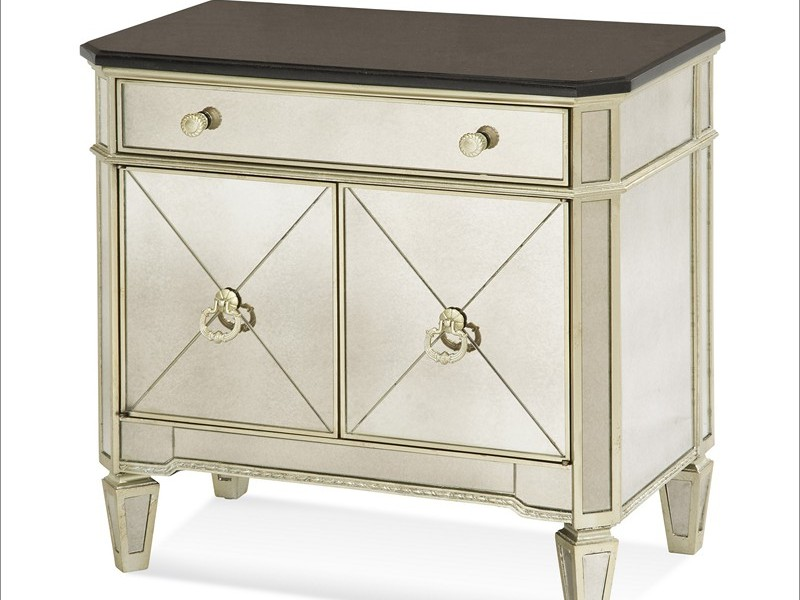 Mirrored Writing Desk Usbeds