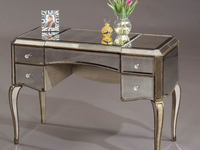Mirrored Writing Desk