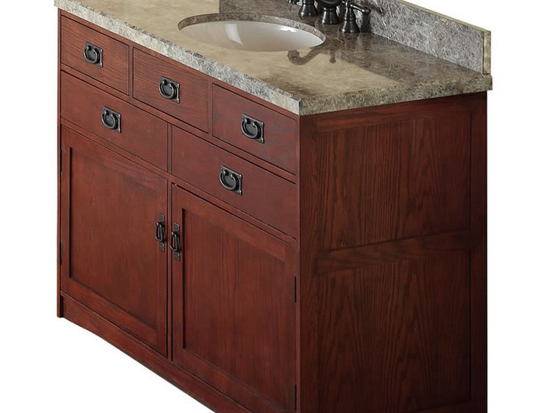 Mission Style Bathroom Vanity 48