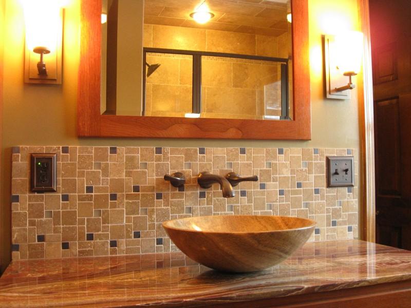 Mission Style Bathroom Vanity Lighting