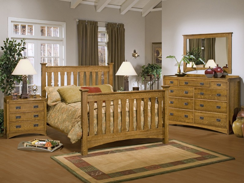 Mission Style Bedroom Sets