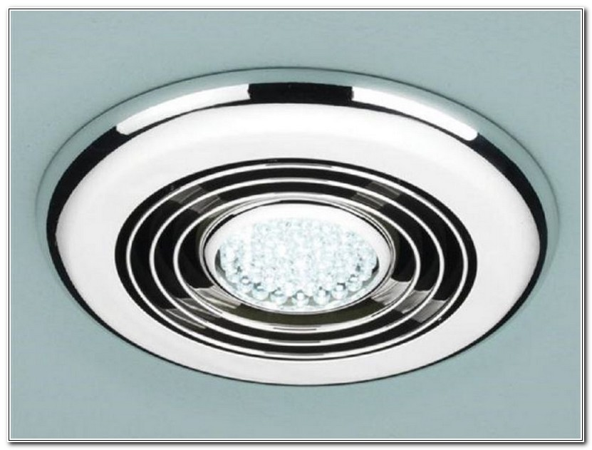Modern Bathroom Exhaust Fan With Light