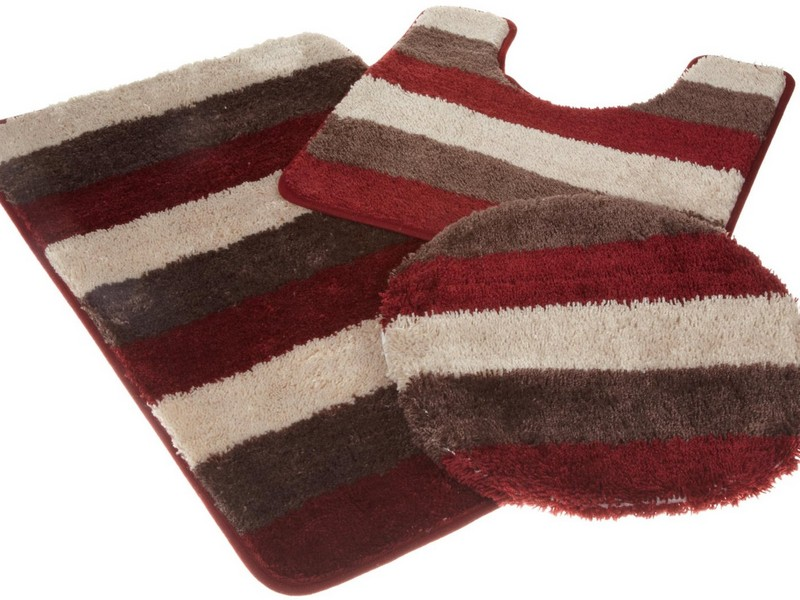 Modern Bathroom Rug Sets