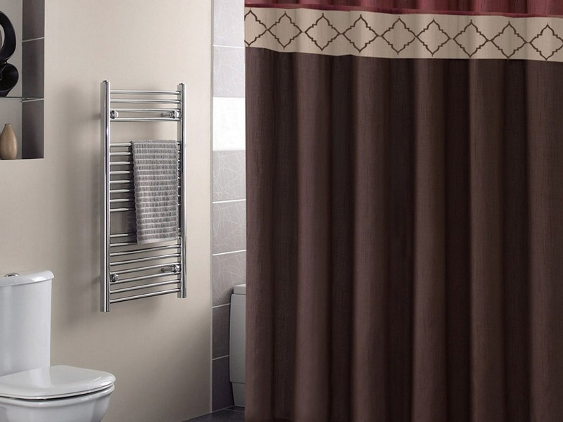 Modern Bathroom Sets With Shower Curtain And Rugs