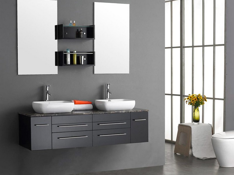 Modern Bathroom Shelving Units