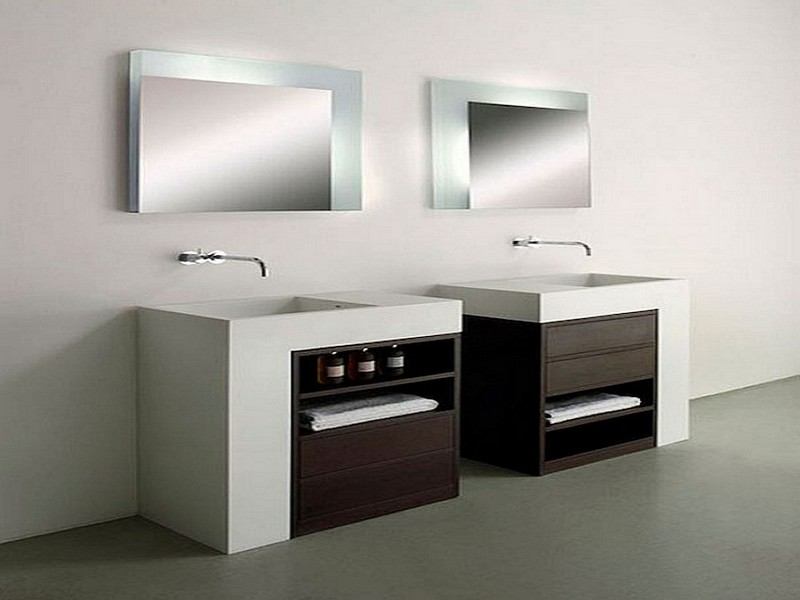 Modern Bathroom Sinks With Storage
