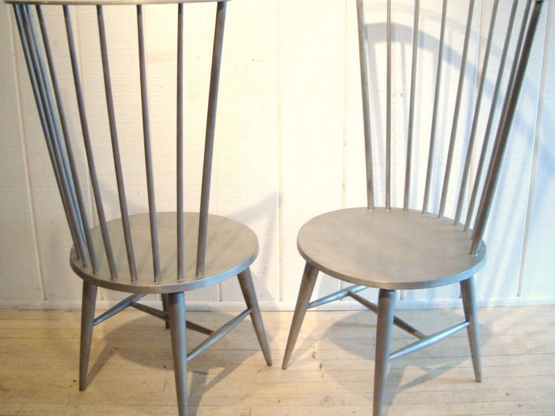 Modern Black Windsor Chairs