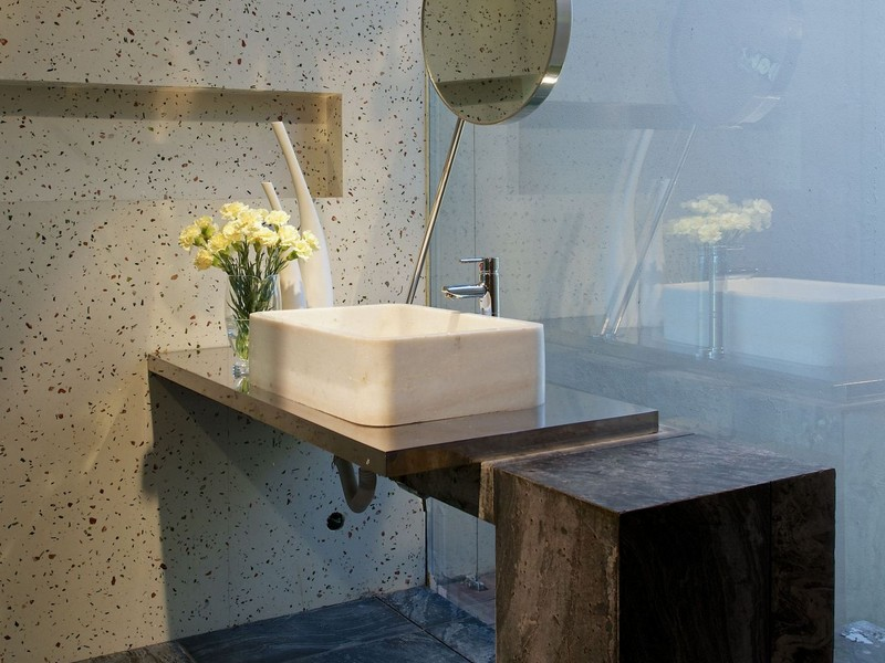 Modern Concrete Bathroom Sinks