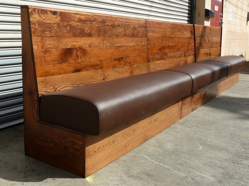 Modern Curved Banquette Seating