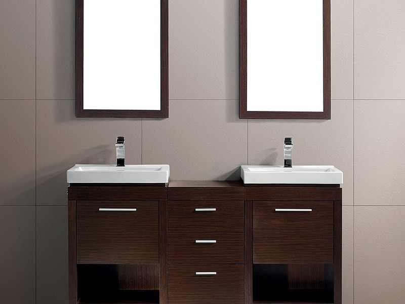 Modern Double Bathroom Sinks