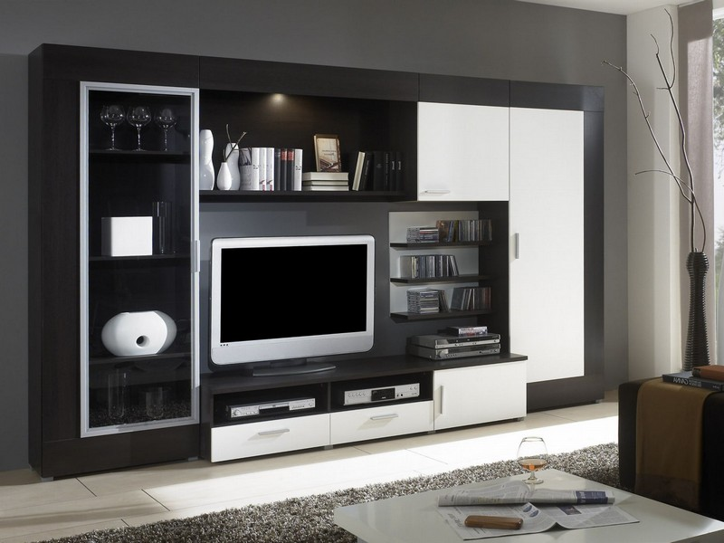 Modern Entertainment Centers Wall Units