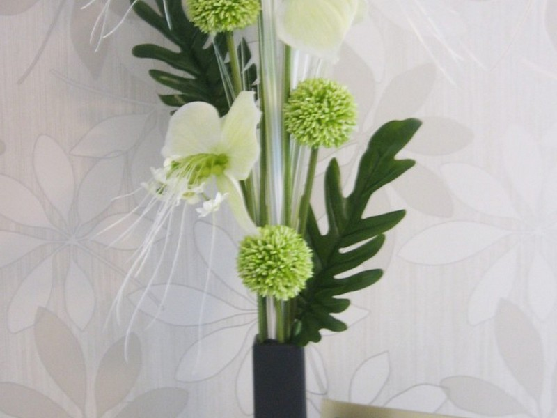 Modern Faux Floral Arrangements