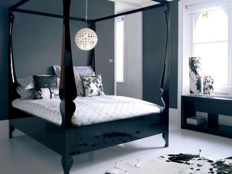 Modern Four Poster Bed Frame
