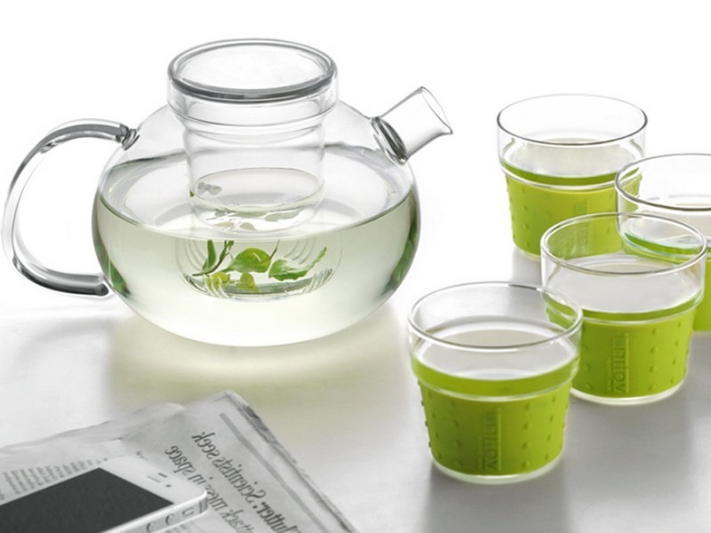 Modern Glass Tea Cups