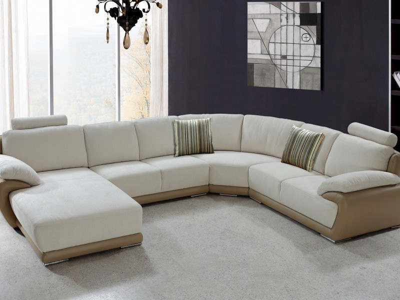 Modern Microfiber Sectional Sofas