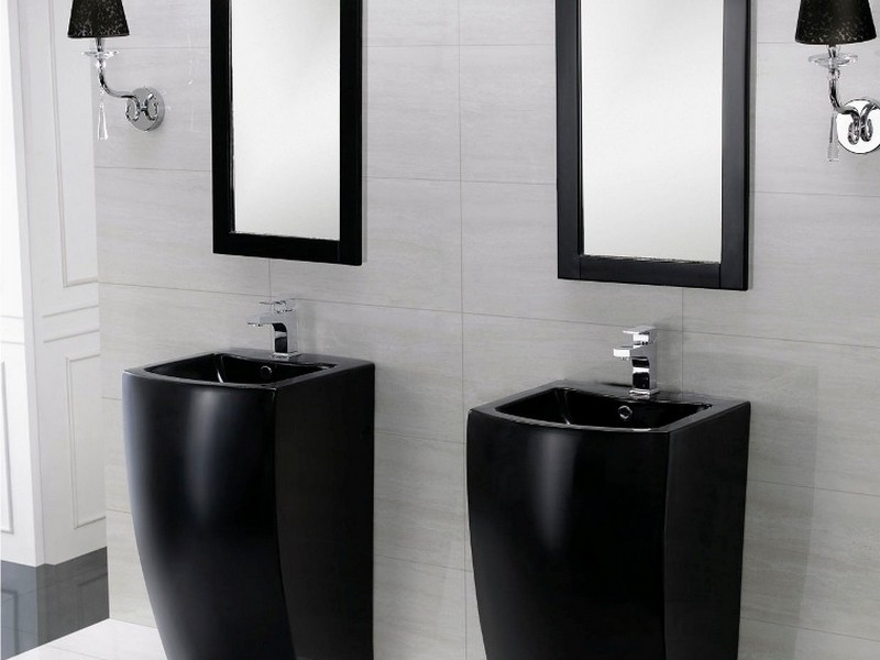 Modern Pedestal Bathroom Sinks