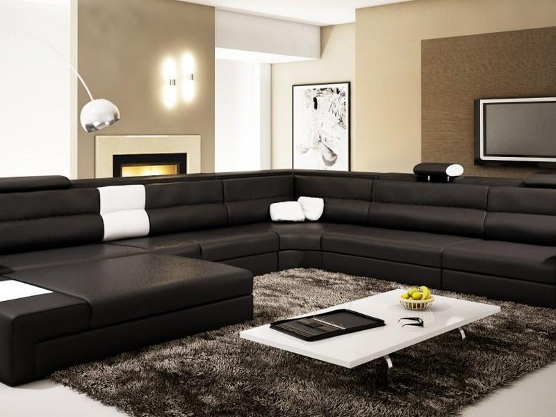 Modern Sectional Leather Sofas