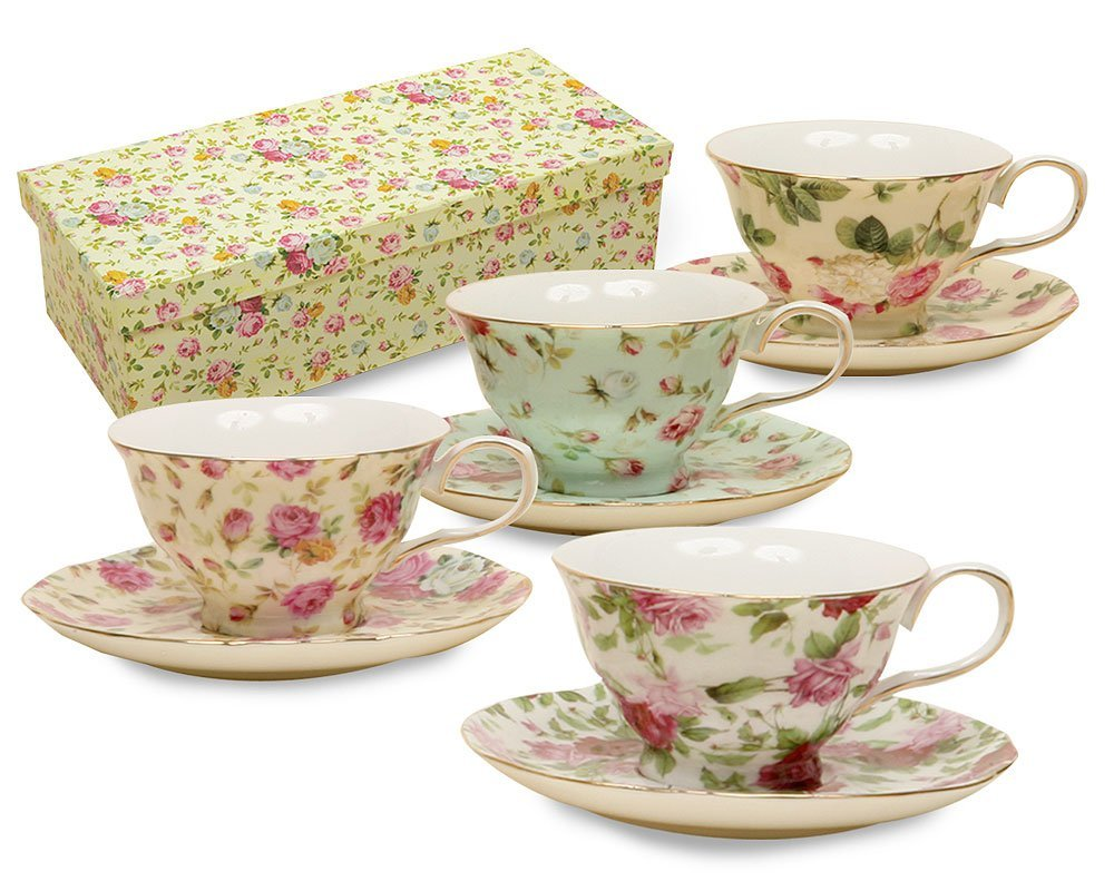 Modern Tea Cups And Saucers