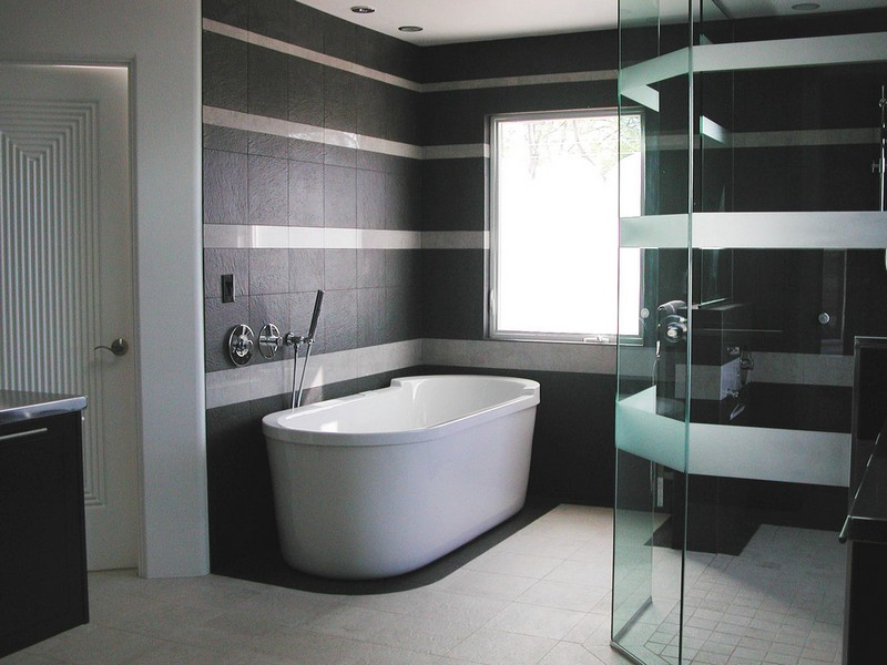 Modern Tile Designs For Bathrooms