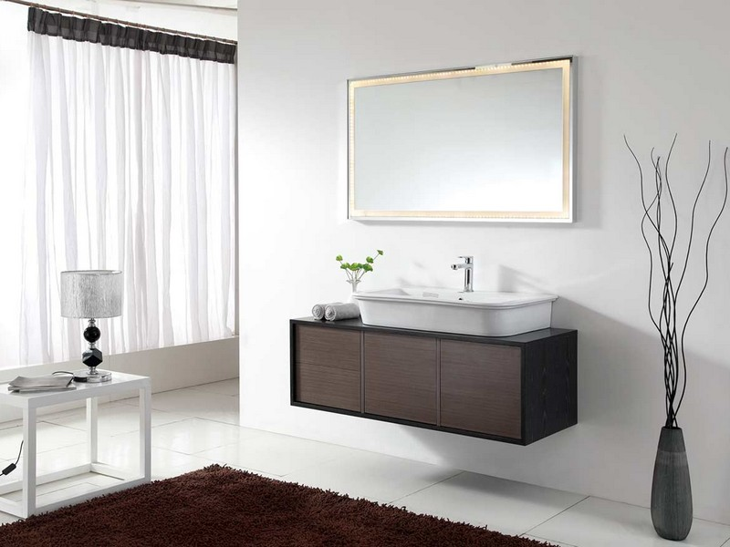 Modern Wall Mounted Bathroom Vanities