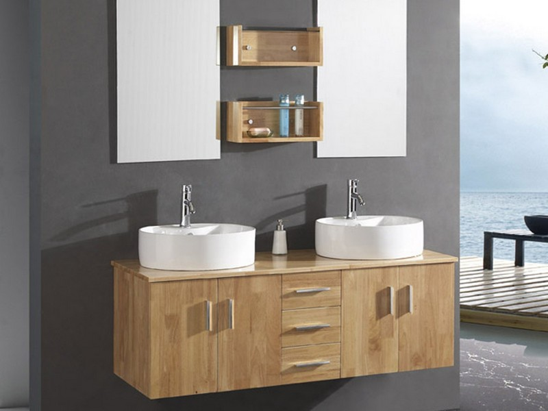 Modern Wood Bathroom Vanities