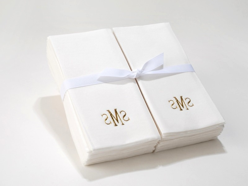 Monogram Hand Towels Bulk