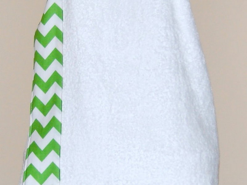Monogram Towel Wrap