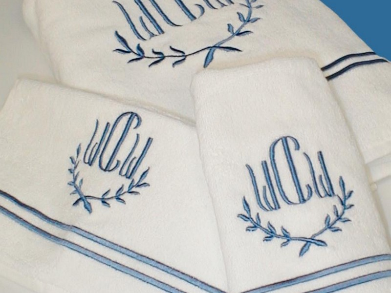 Monogrammed Bath Towels Cheap