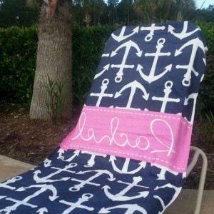 Monogrammed Beach Towels For Kids