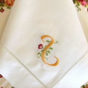 Monogrammed Cloth Napkins