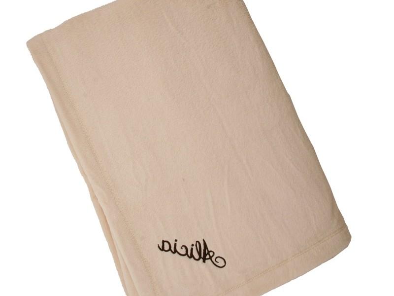 Monogrammed Fleece Blankets