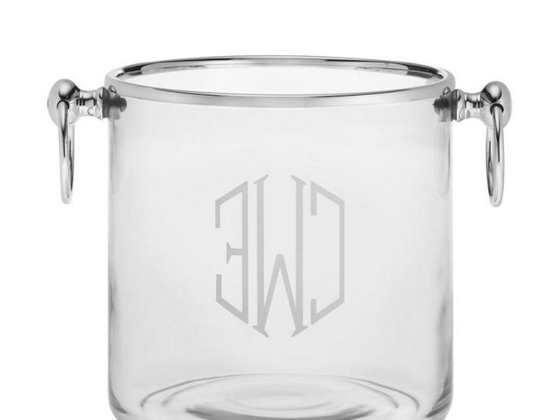 Monogrammed Ice Bucket