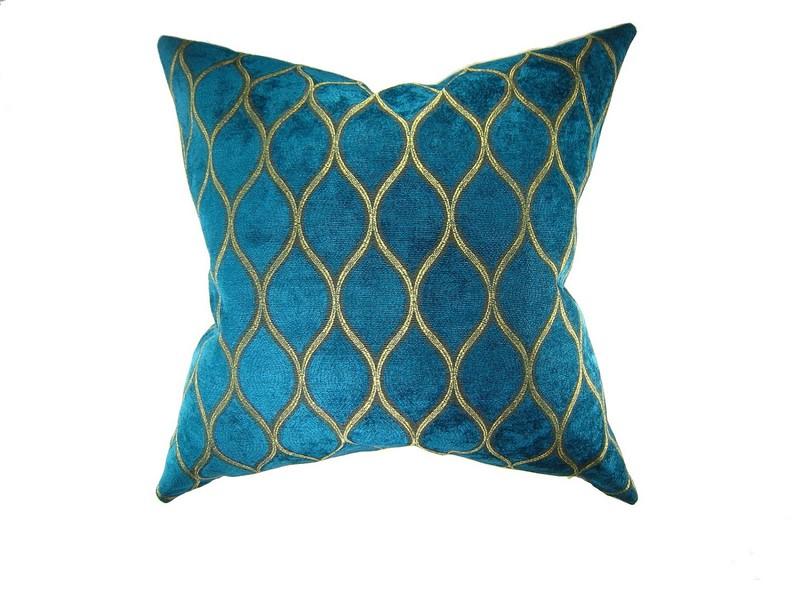 Monogrammed Outdoor Pillows