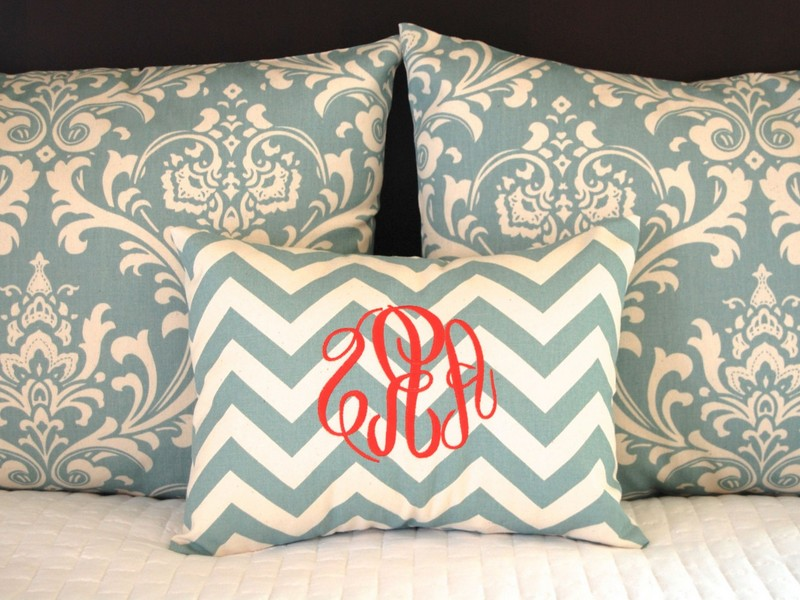 Monogrammed Pillow Shams