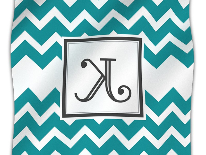 Monogrammed Throw Blankets