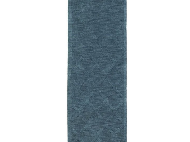 Moorish Tile Rug Teal