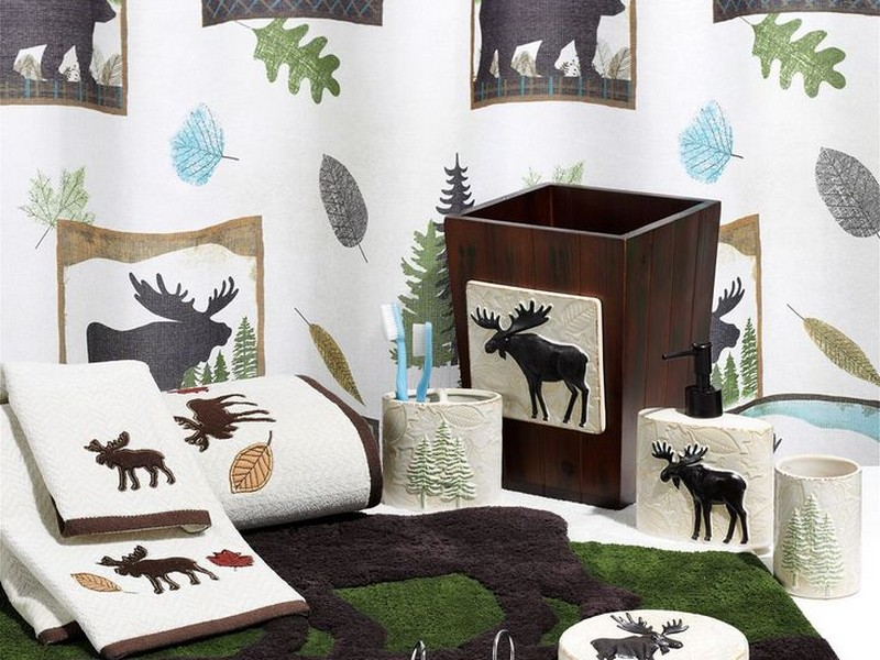 Moose Bathroom Decor Sets