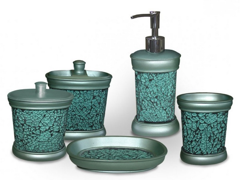 Mosaic Bathroom Accessories Sets