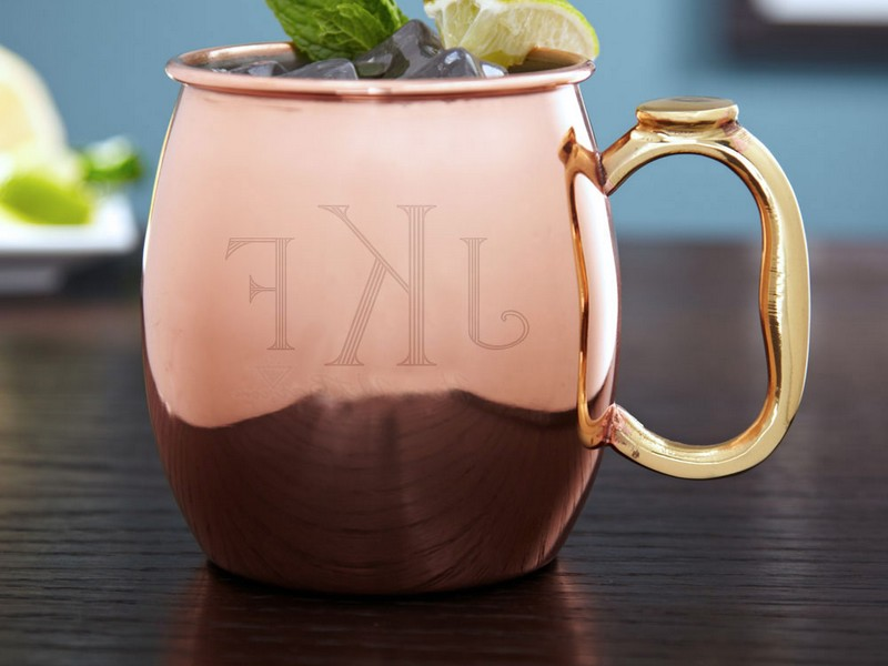 Moscow Mule Cups Engraved