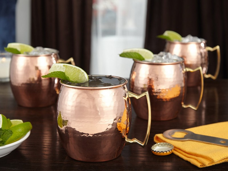 Moscow Mule Mugs Set Of 4