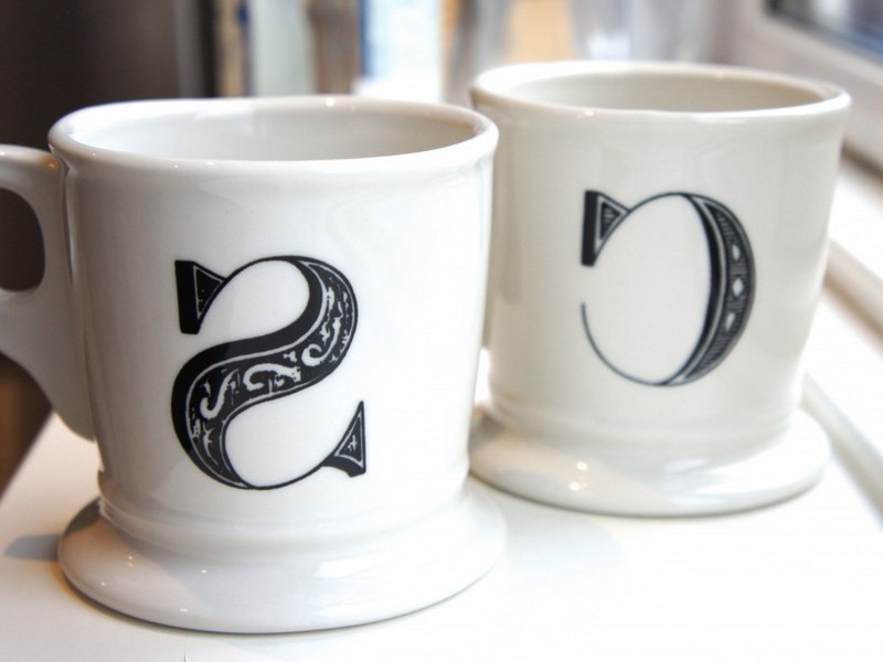 Mugs With Initials On Them