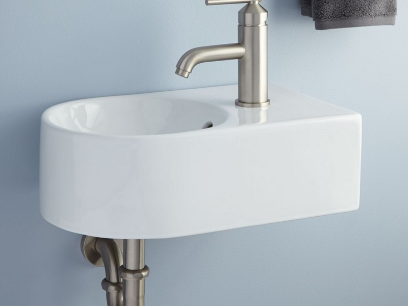 Narrow Bathroom Sinks Wall Mount
