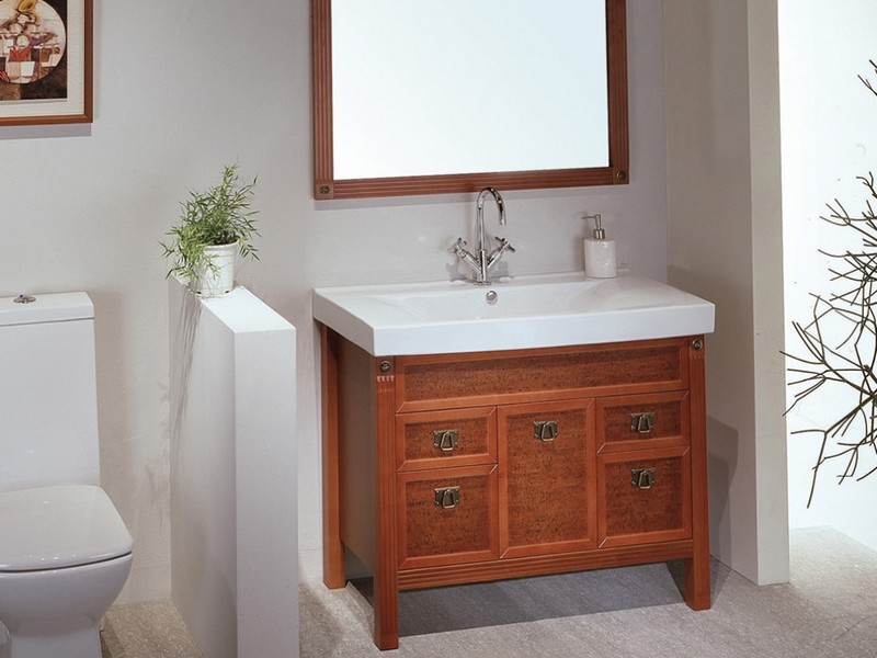 Narrow Bathroom Vanities