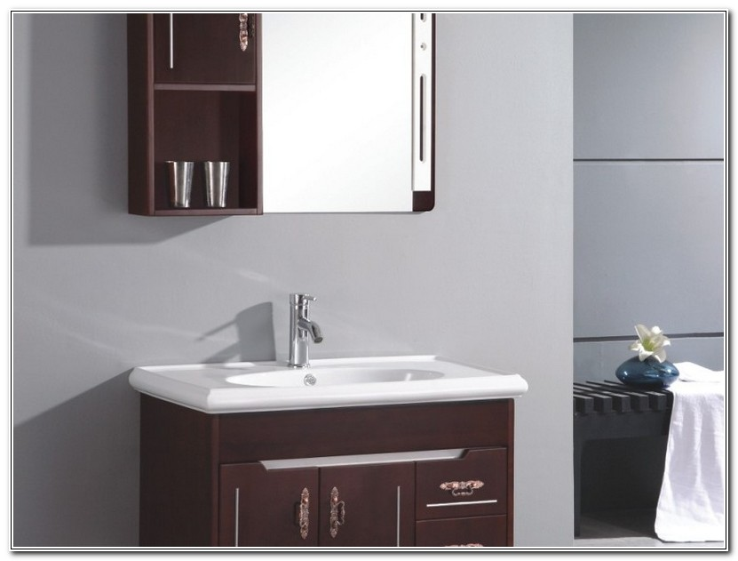 Narrow Bathroom Vanity And Sink