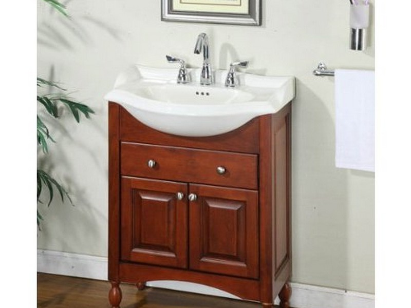 Narrow Bathroom Vanity
