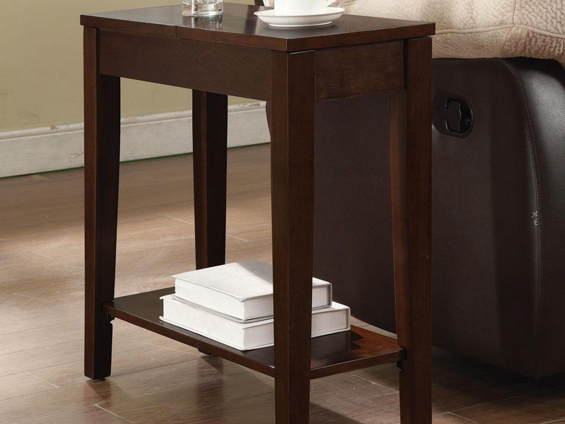 Narrow Chairside Table